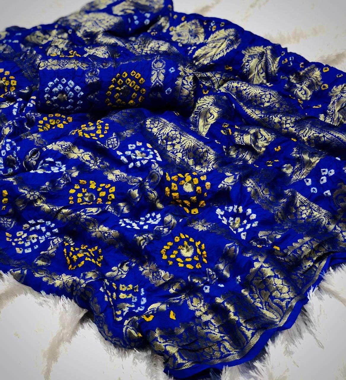 cotton traditional bandej design saree collection