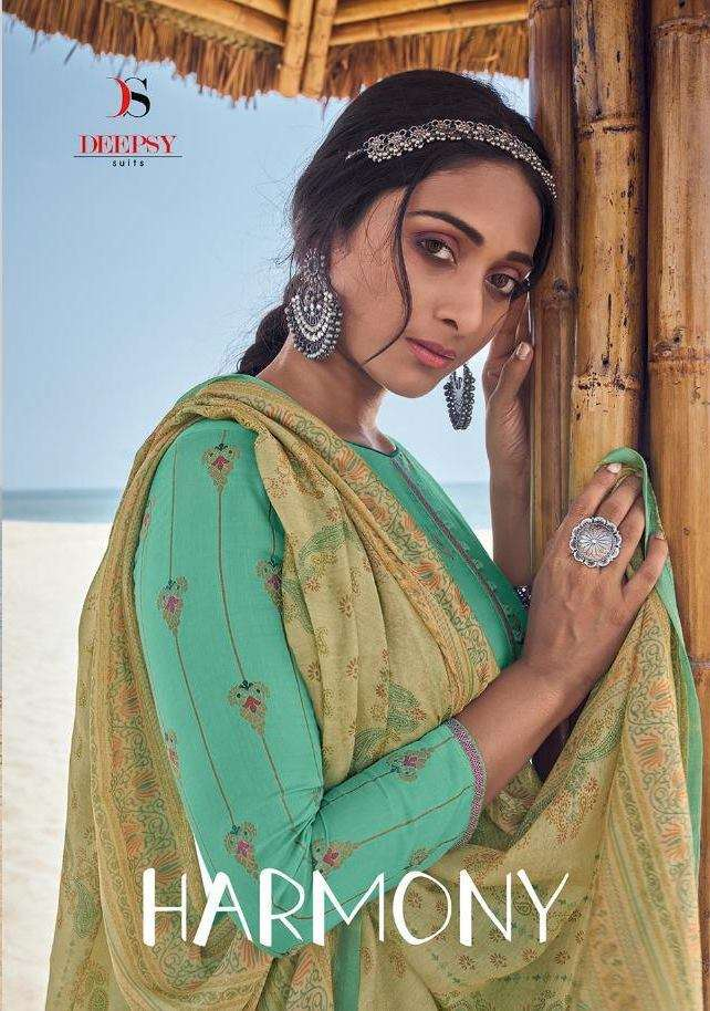 Deepsy Suits Harmony jam satin Jacquard Dress Material Collection