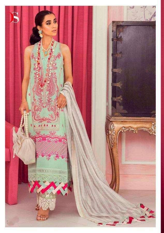 Deepsy Suits Sana Safinaz Muzlin Vol 3 Pure Cotton print With Embroidery Work Pakistani Suits Collection