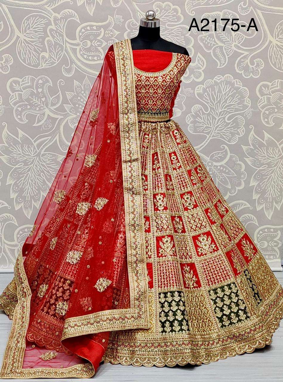 Designer wedding Wear Bridal Silk Lehenga Choli Collection
