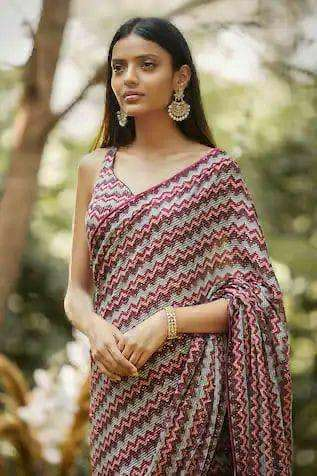 GEORGETTE WITH SEQUINCE WORK SAREE COLLECTION