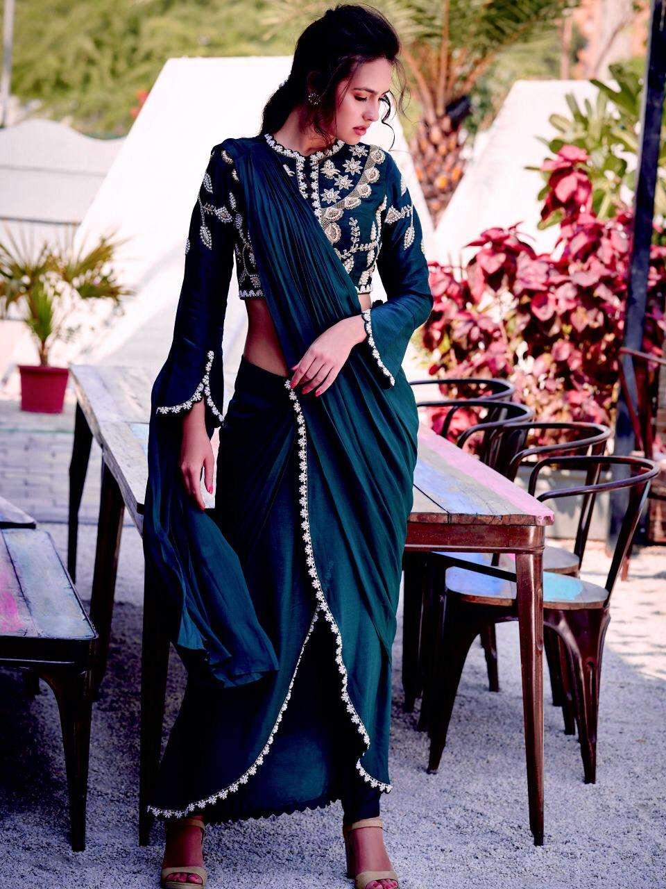heavy KASTURI silk party wear style saree collection
