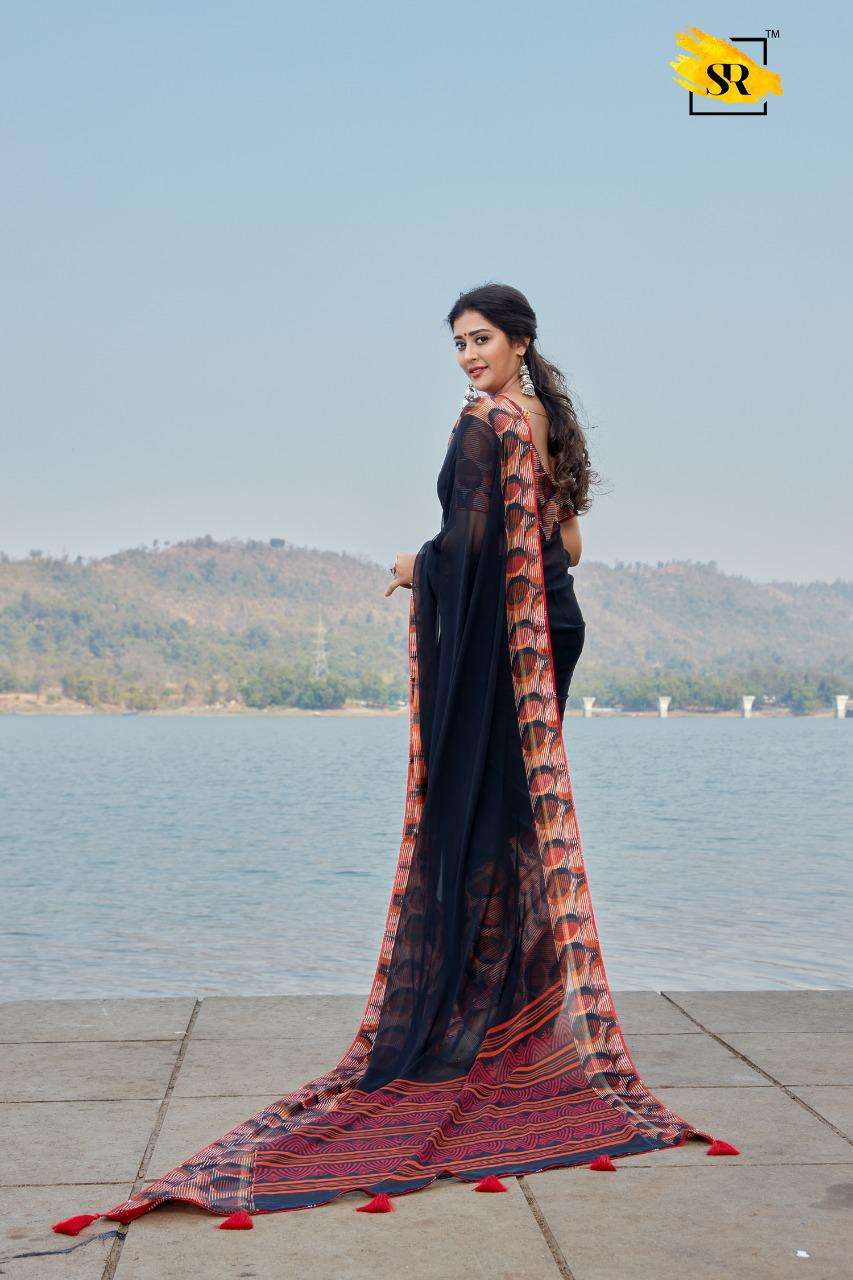 jeevika weightless with printed saree collection 05