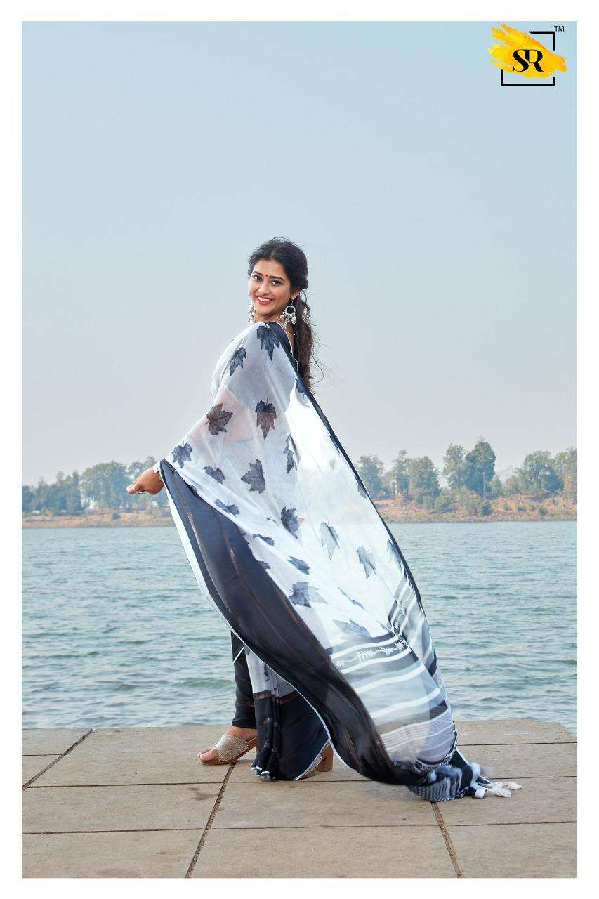 jeevika weightless with printed saree collection