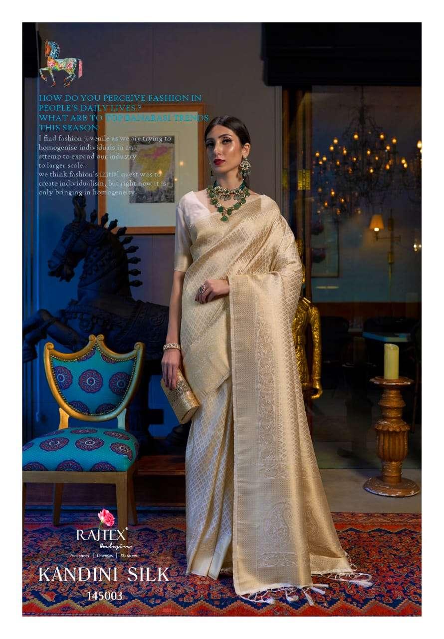 Kandini Silk PARTY WEAR SAREE COLLECTION 02