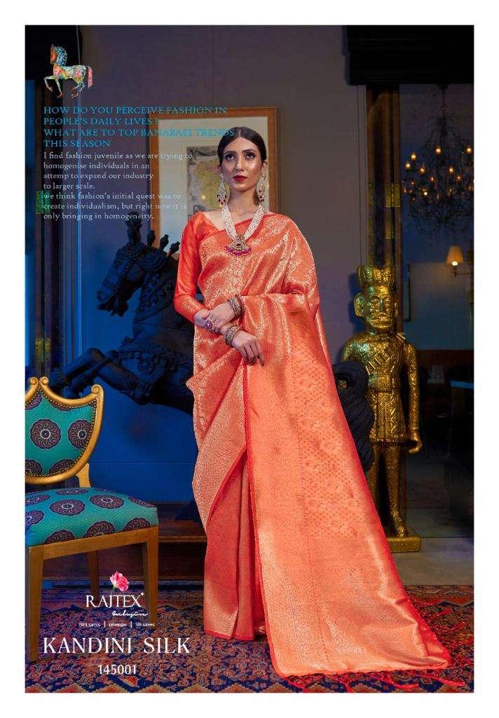 Kandini Silk PARTY WEAR SAREE COLLECTION 03