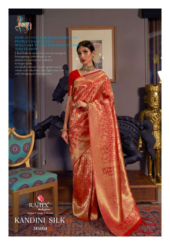 Kandini Silk PARTY WEAR SAREE COLLECTION 04