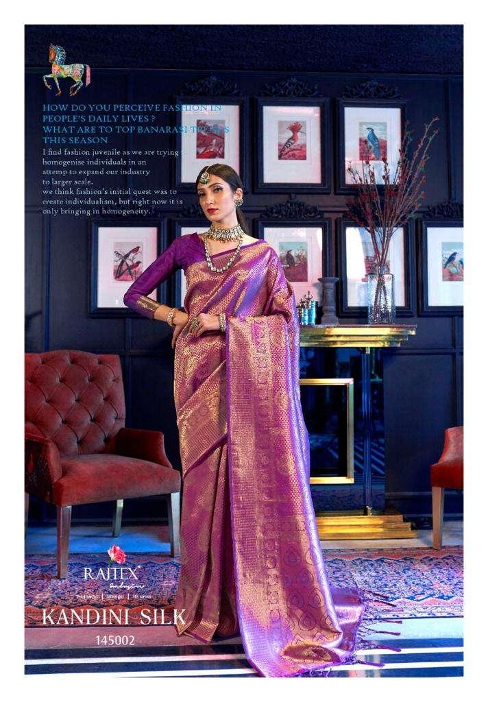 Kandini Silk PARTY WEAR SAREE COLLECTION