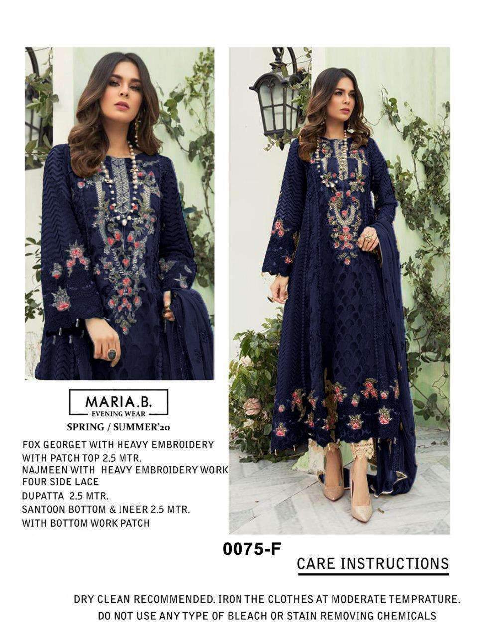 Kilruba K 56 Georgette With Resham Embroidery Work Pakistani Suits Collection 02