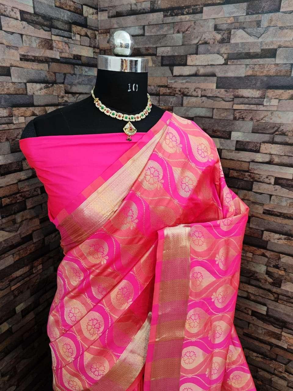 Kiyara Banarasi silk party wear saree collection 01
