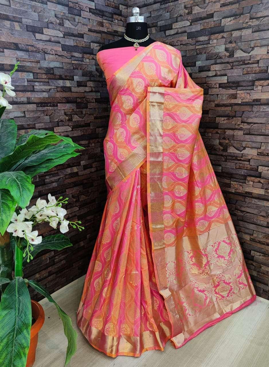 Kiyara Banarasi silk party wear saree collection 03