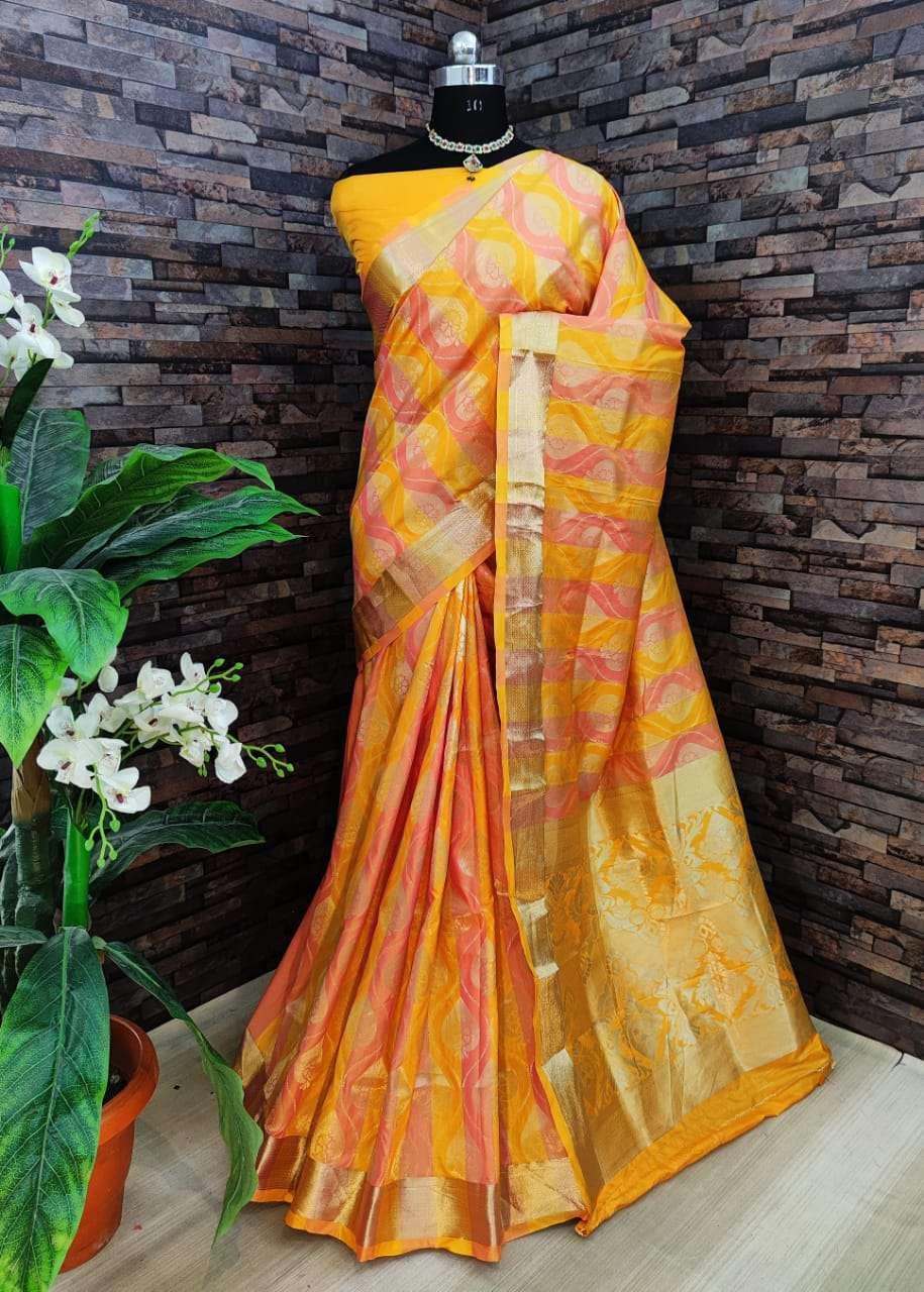 Kiyara Banarasi silk party wear saree collection 06