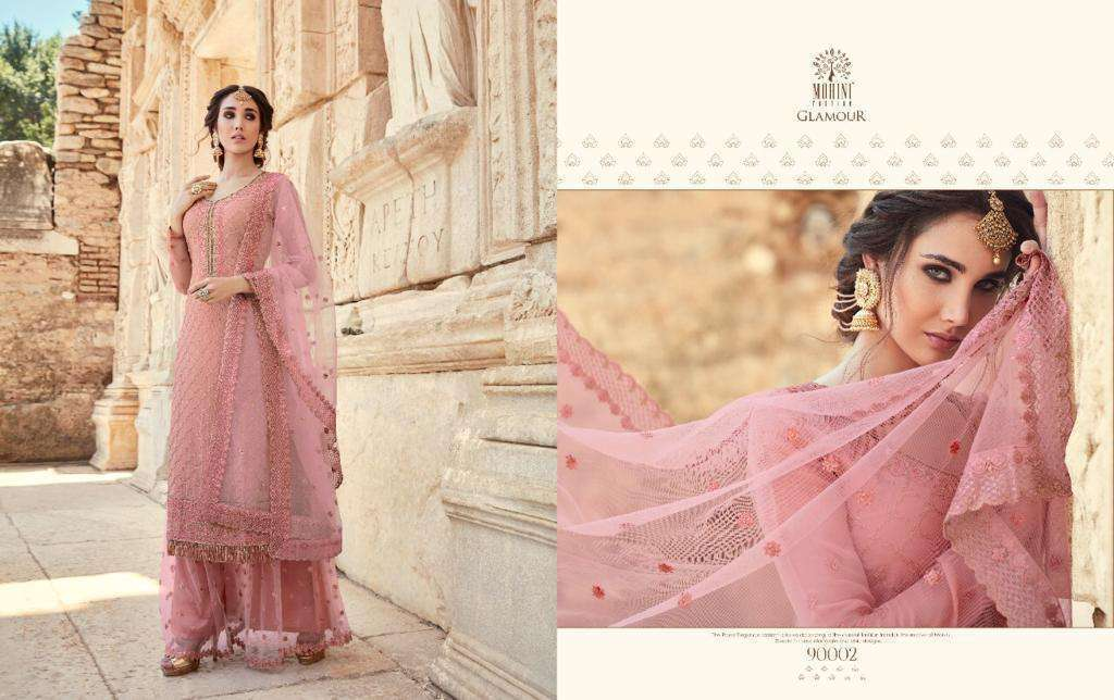 Mohini Fashion Glamour Vol 90 Georgette With Embroidery Work Dress Material Collection 03