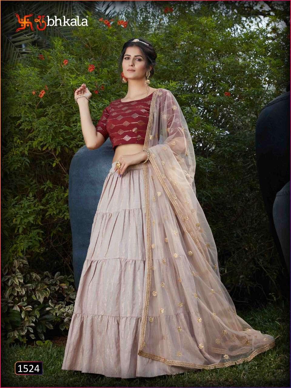 Party Wear Designer Lehenga Choli Collection 08