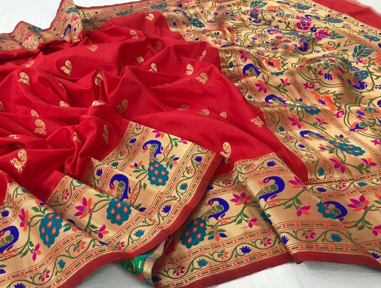 pure paithni silk traditional saree collection
