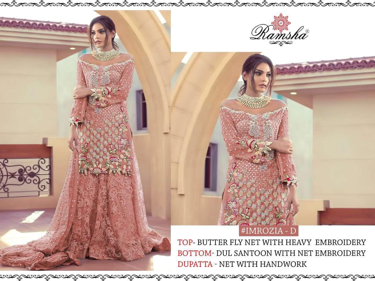 Ramsha Imrozia Nx with embroidery wotk pakisatni suit collection04