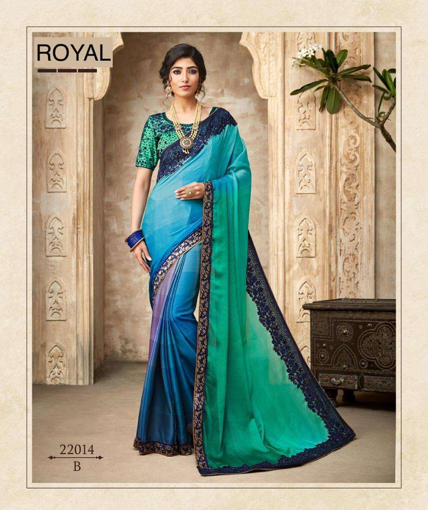 ROYAL fancy party wear saree collection 05