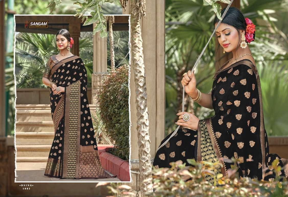 Sangam Prints Vartika Handloom Cotton Sarees Collection 03