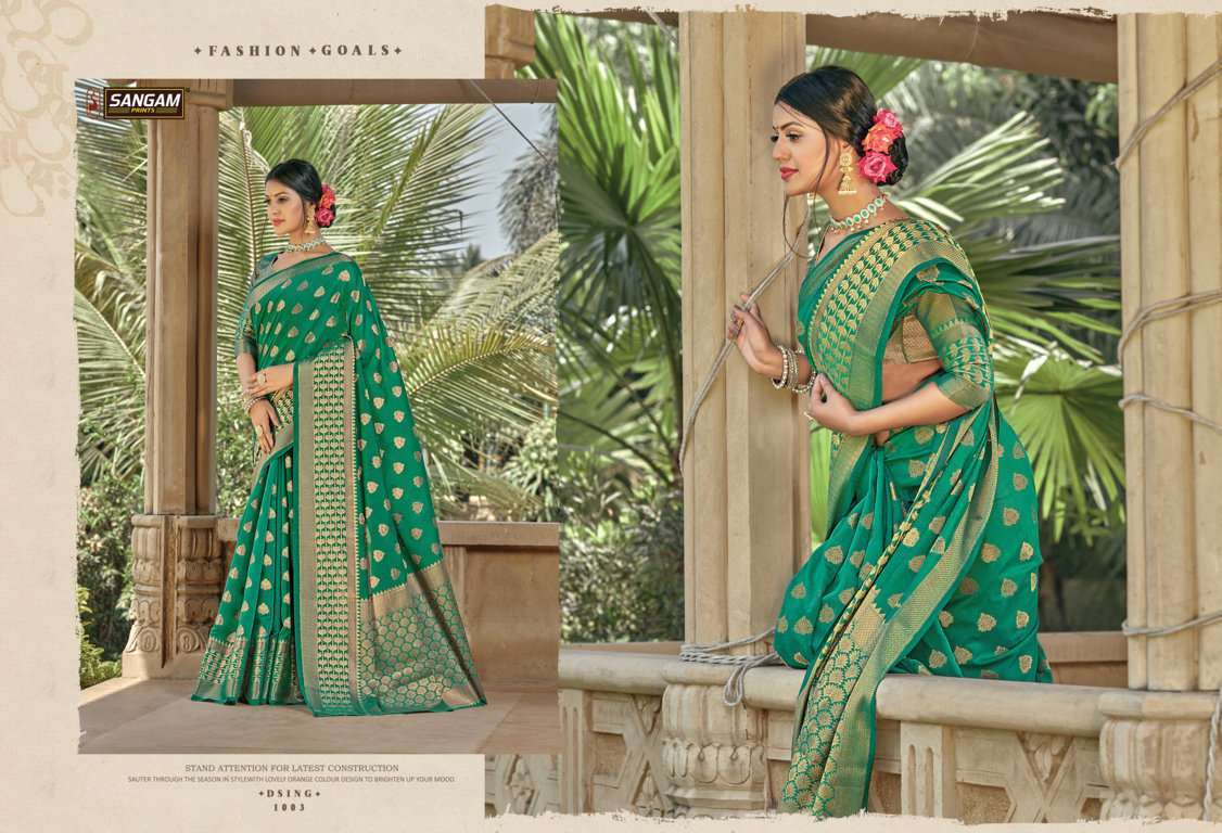 Sangam Prints Vartika Handloom Cotton Sarees Collection 04