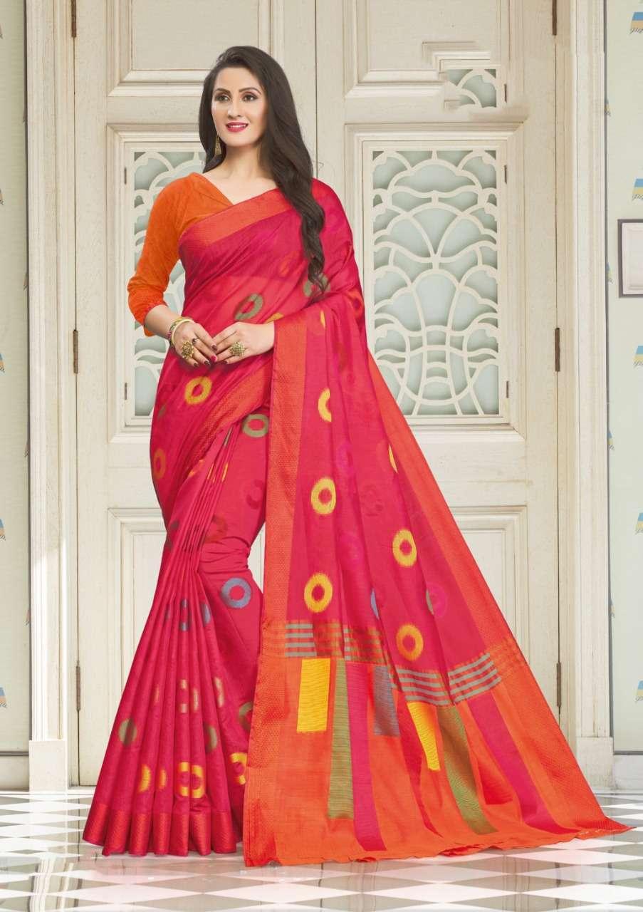 Sangam Prints Vedika Handloom Cotton Sarees Collection 02