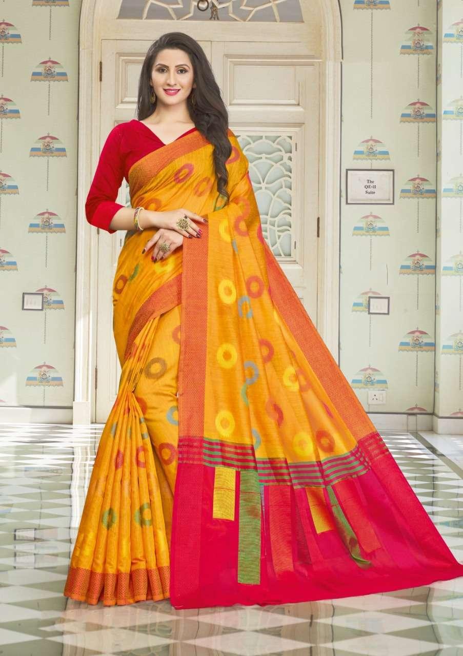 Sangam Prints Vedika Handloom Cotton Sarees Collection 03