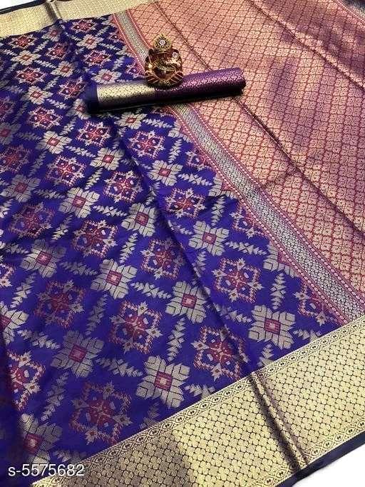 Silk Saree Vol 2 Banarasi Silk Patola Sarees Collection 010