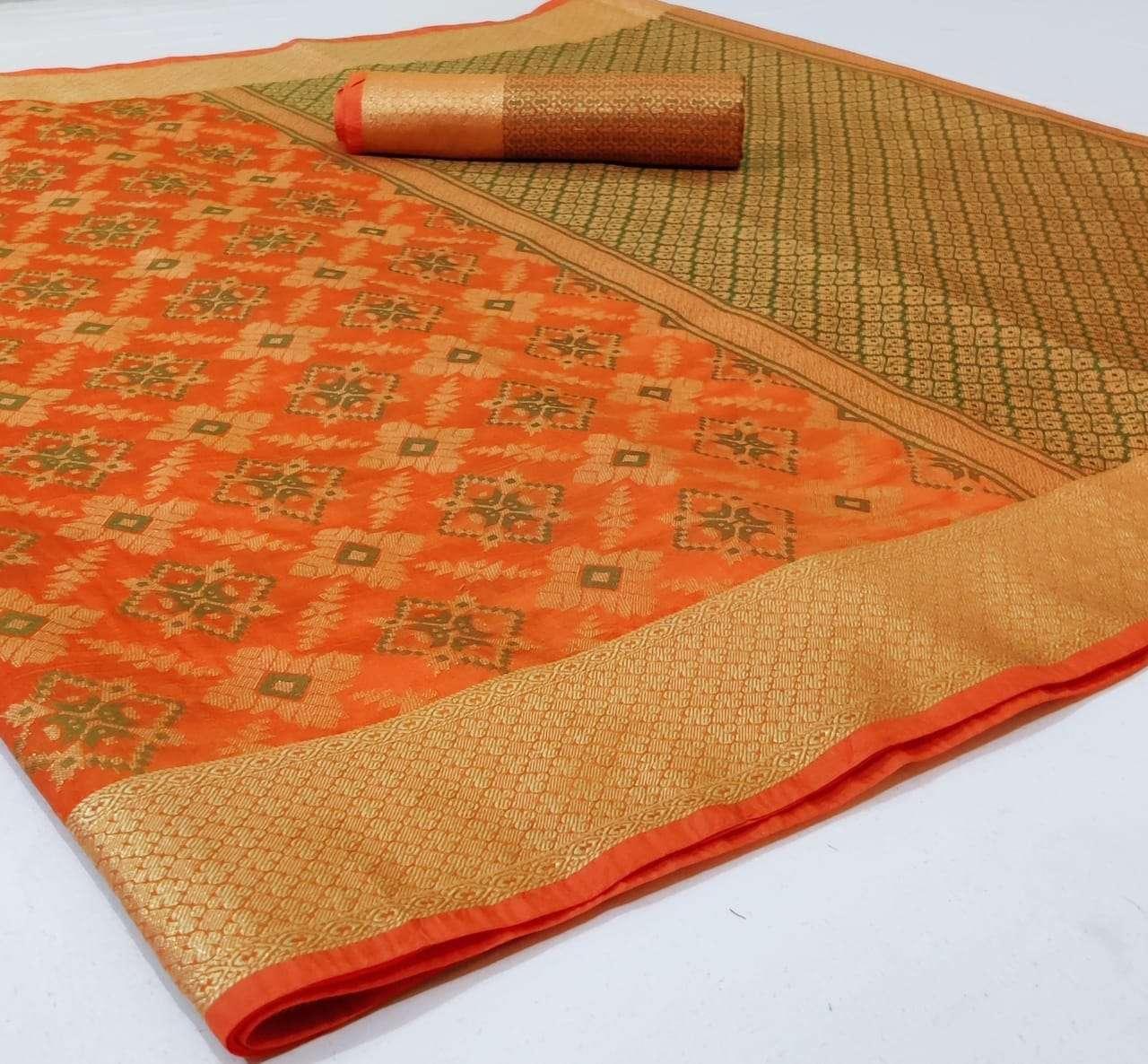 Silk Saree Vol 2 Banarasi Silk Patola Sarees Collection 08