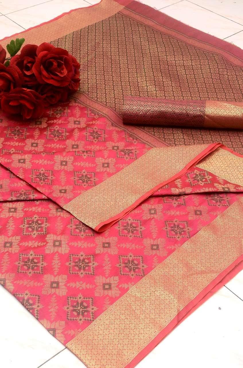 Silk Saree Vol 2 Banarasi Silk Patola Sarees Collection 11