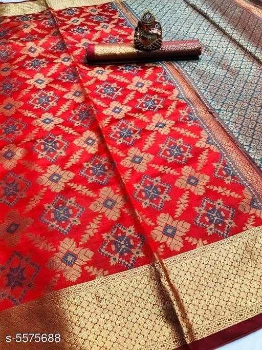 Silk Saree Vol 2 Banarasi Silk Patola Sarees Collection 12