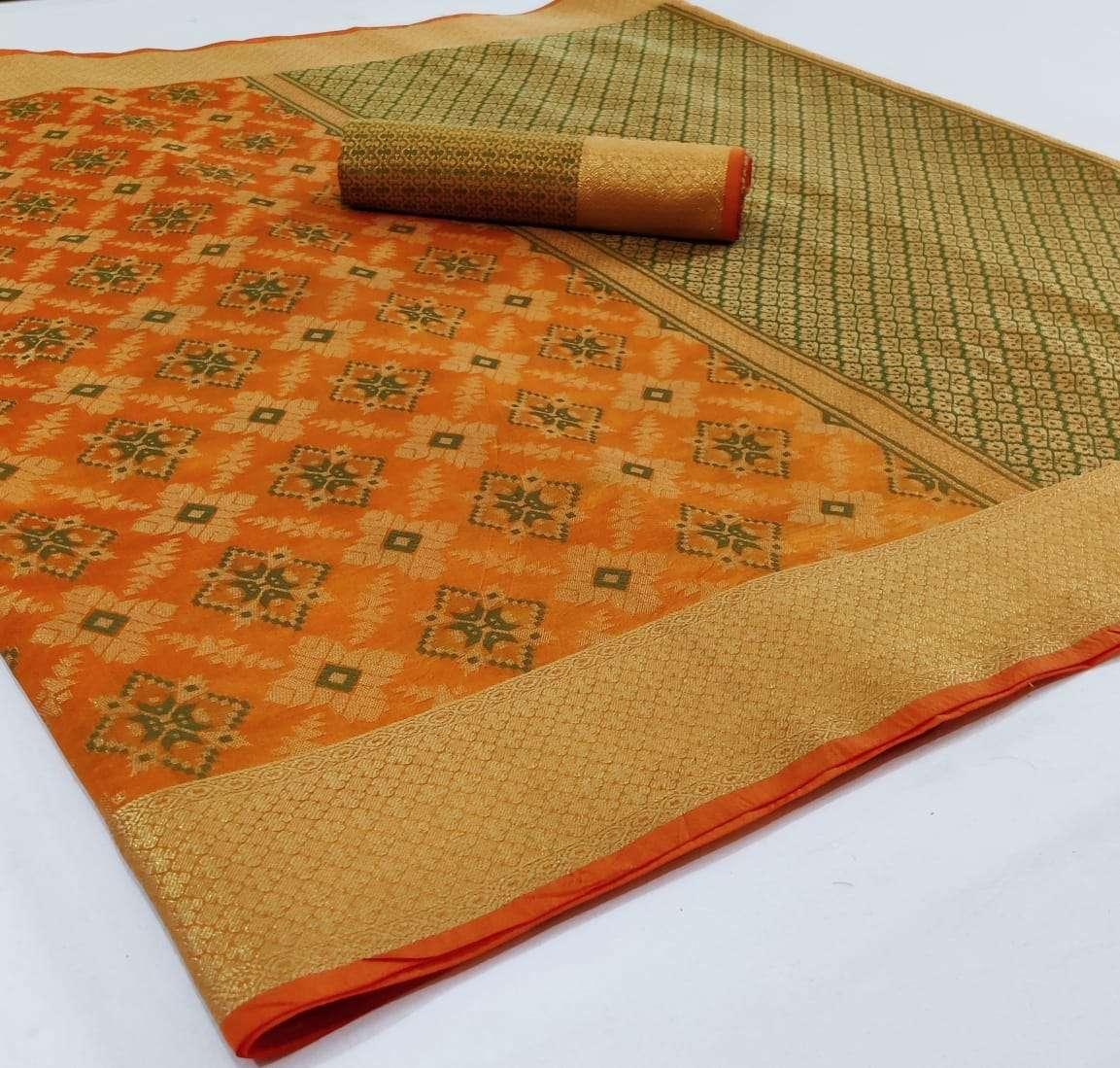 Silk Saree Vol 2 Banarasi Silk Patola Sarees Collection 13