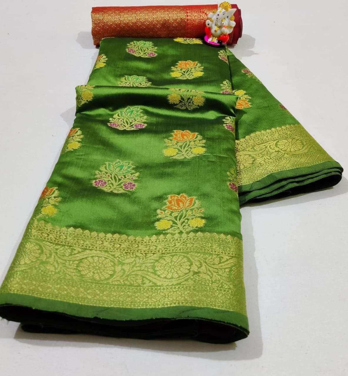 Silk Saree Vol 6 Pure Soft Banarasi Silk Patola Print With Weaving Sarees Collection 03