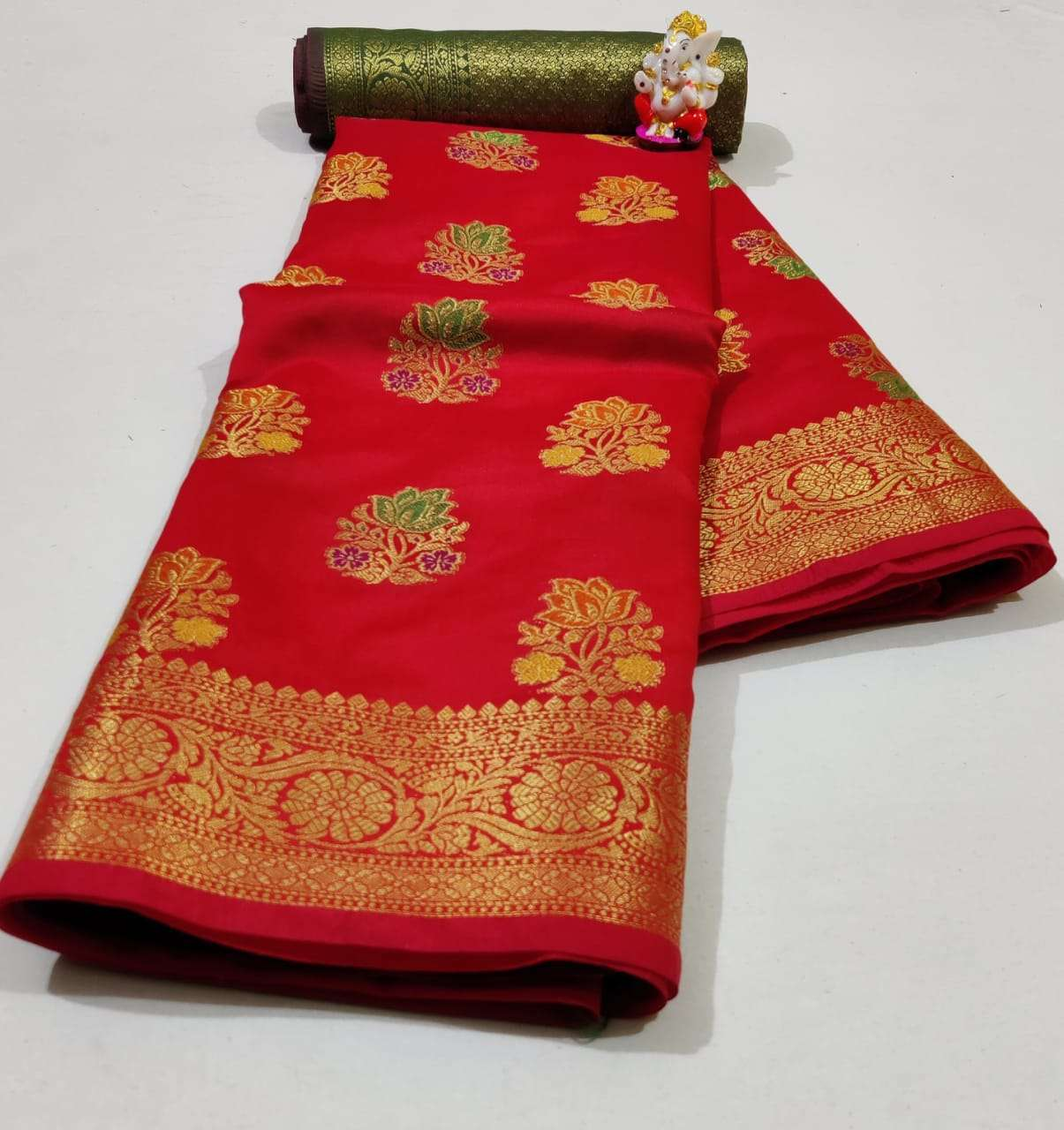 Silk Saree Vol 6 Pure Soft Banarasi Silk Patola Print With Weaving Sarees Collection 04