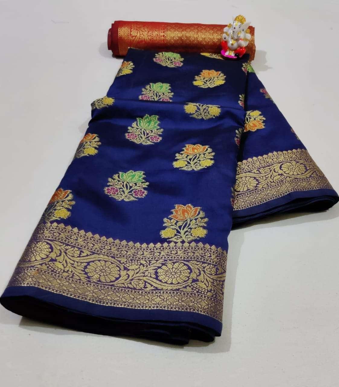 Silk Saree Vol 6 Pure Soft Banarasi Silk Patola Print With Weaving Sarees Collection 06