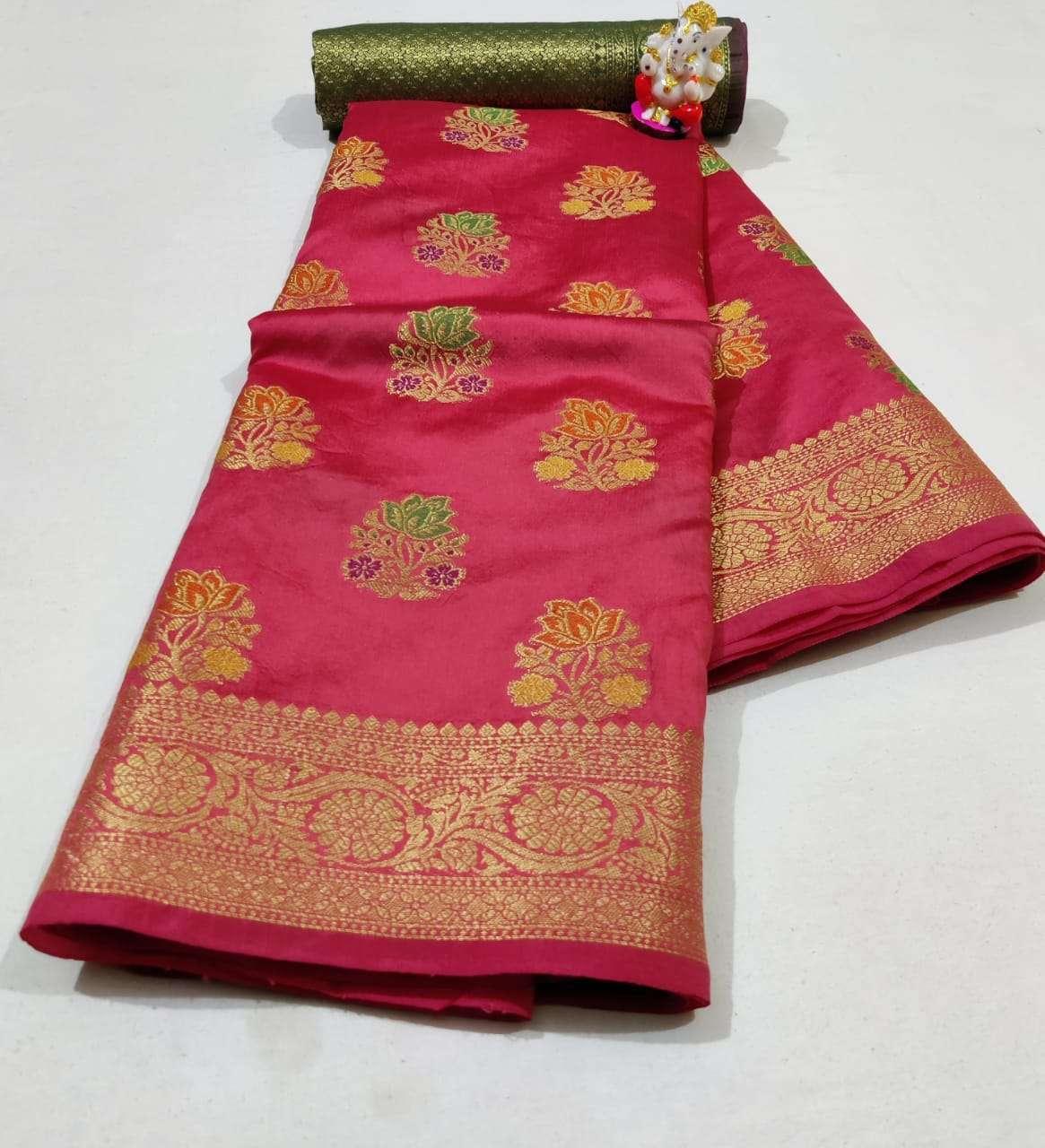Silk Saree Vol 6 Pure Soft Banarasi Silk Patola Print With Weaving Sarees Collection0 2