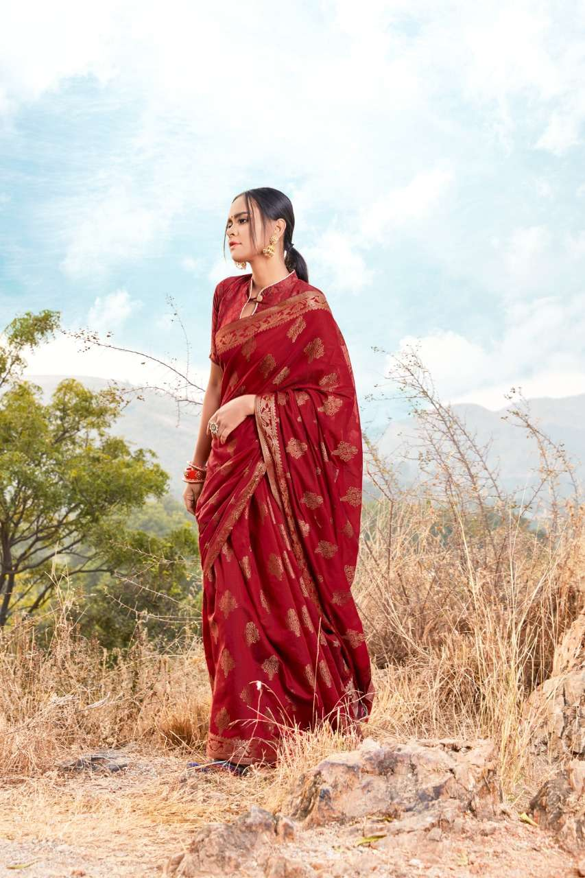 Soft Cotton Weaving PARTY WEAR SAREE COLLECTION 06