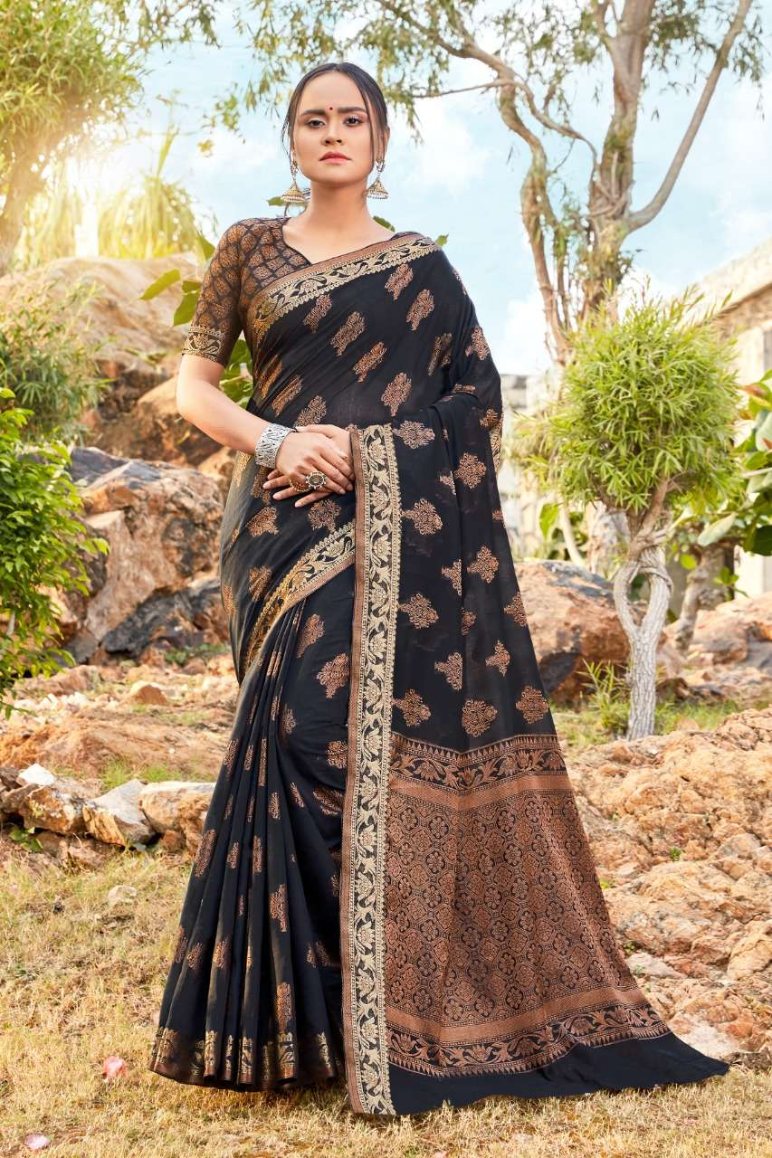 Soft Cotton Weaving PARTY WEAR SAREE COLLECTION