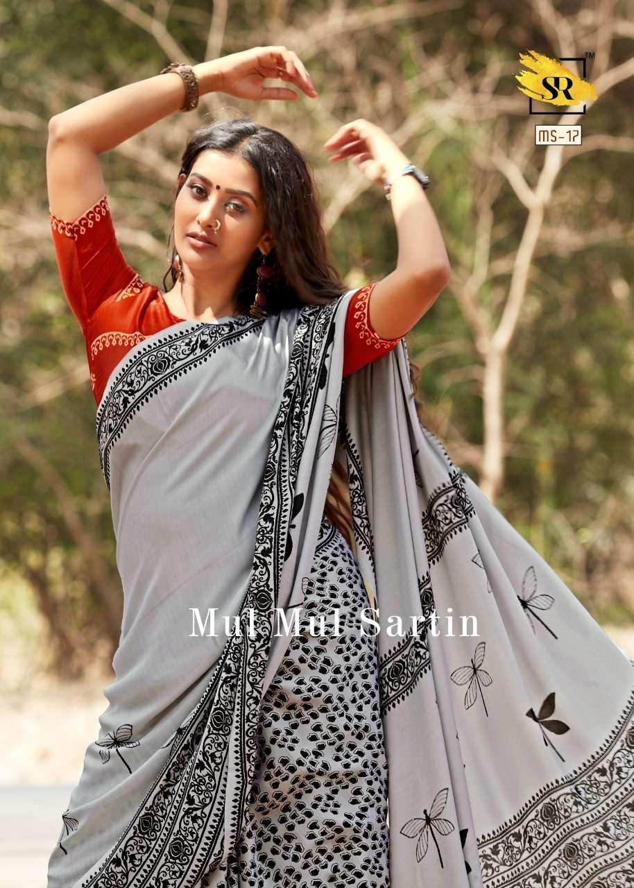 Soft mul mul Sattin silk REGULAR WEAR SAREE COLLECTION 06