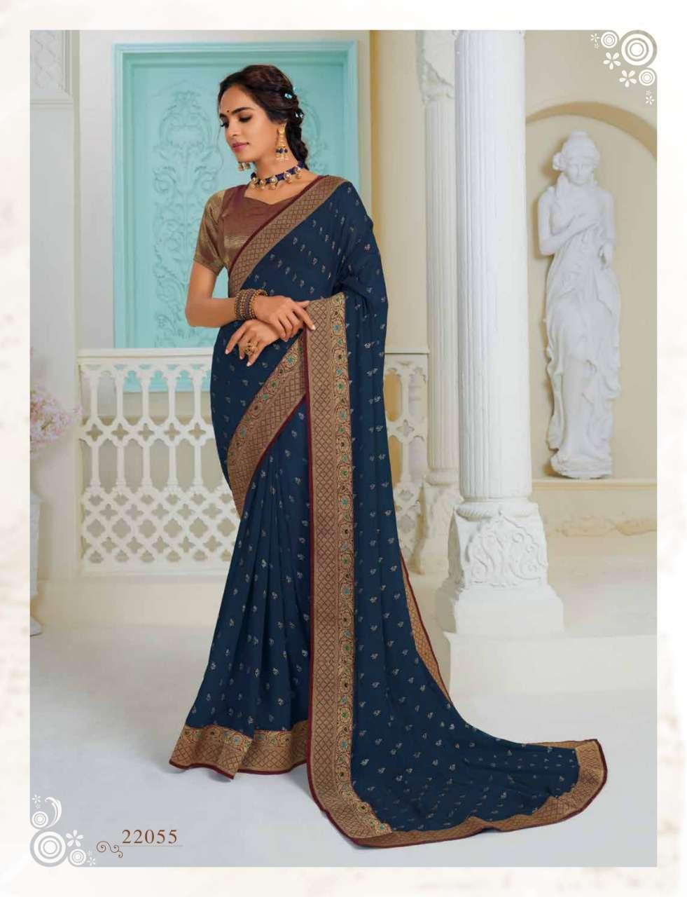 Subhash Manjri Fancy Designer Party Wear Sarees Collection 05
