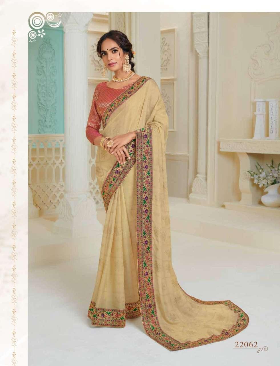 Subhash Manjri Fancy Designer Party Wear Sarees Collection 12