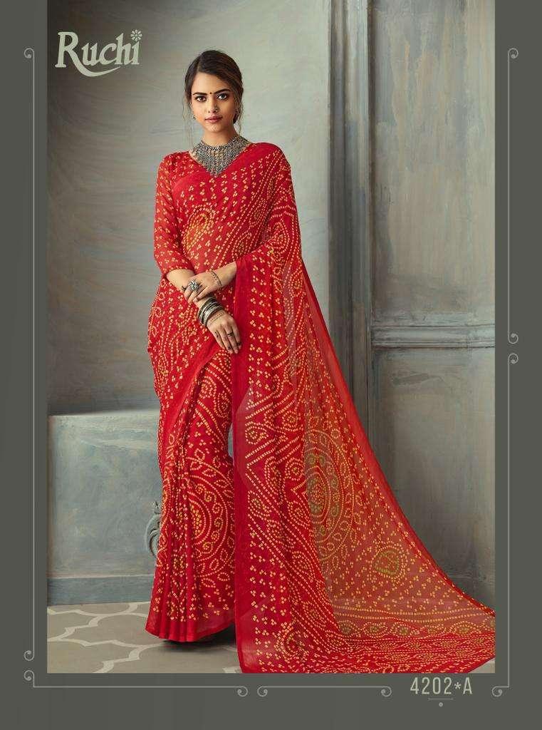 SUPER KESER chiffon with printed regular wear saree  collection 01