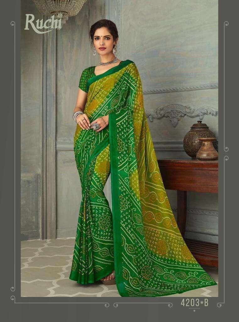 SUPER KESER chiffon with printed regular wear saree  collection 02