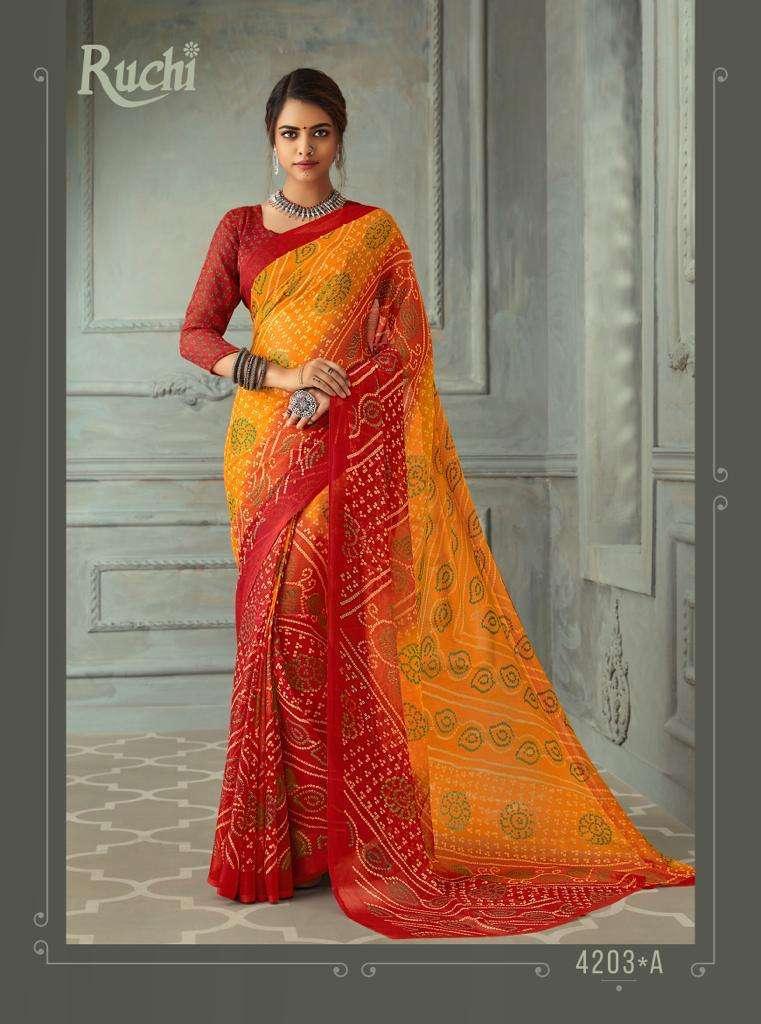 SUPER KESER chiffon with printed regular wear saree  collection 03