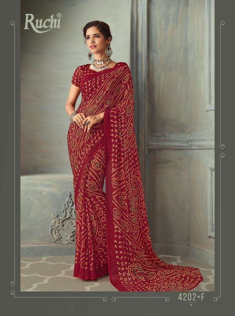 SUPER KESER chiffon with printed regular wear saree  collection 05
