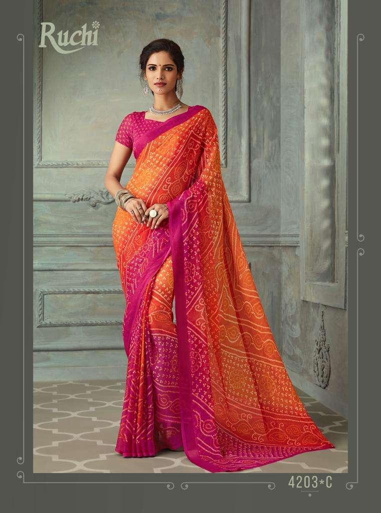 SUPER KESER chiffon with printed regular wear saree  collection 06