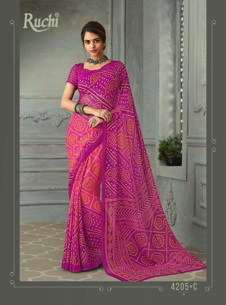 SUPER KESER chiffon with printed regular wear saree  collection 07