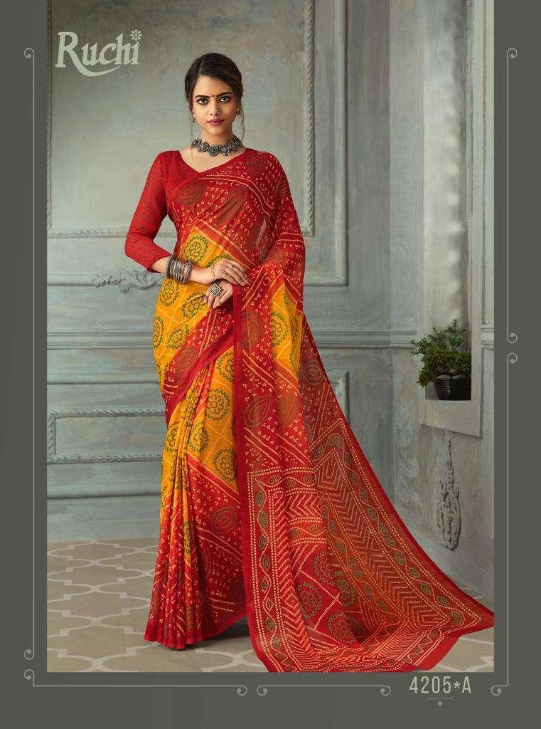 SUPER KESER chiffon with printed regular wear saree  collection 08