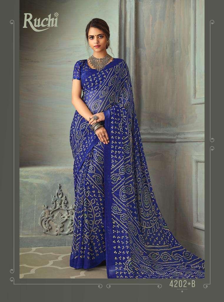 SUPER KESER chiffon with printed regular wear saree  collection 09