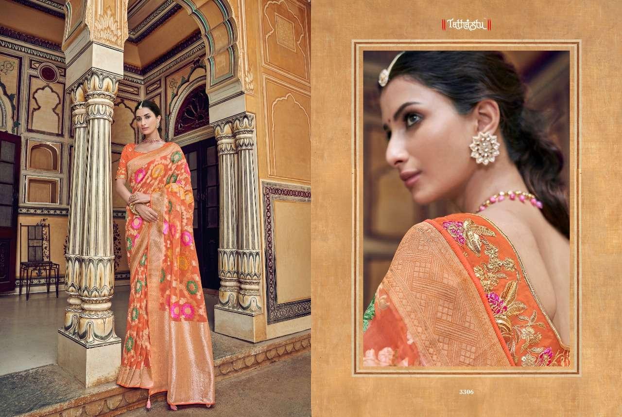 TATHASTU 3300 SERIES designer saree collection 03