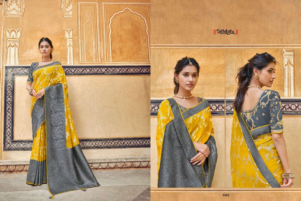 TATHASTU 3300 SERIES designer saree collection 04