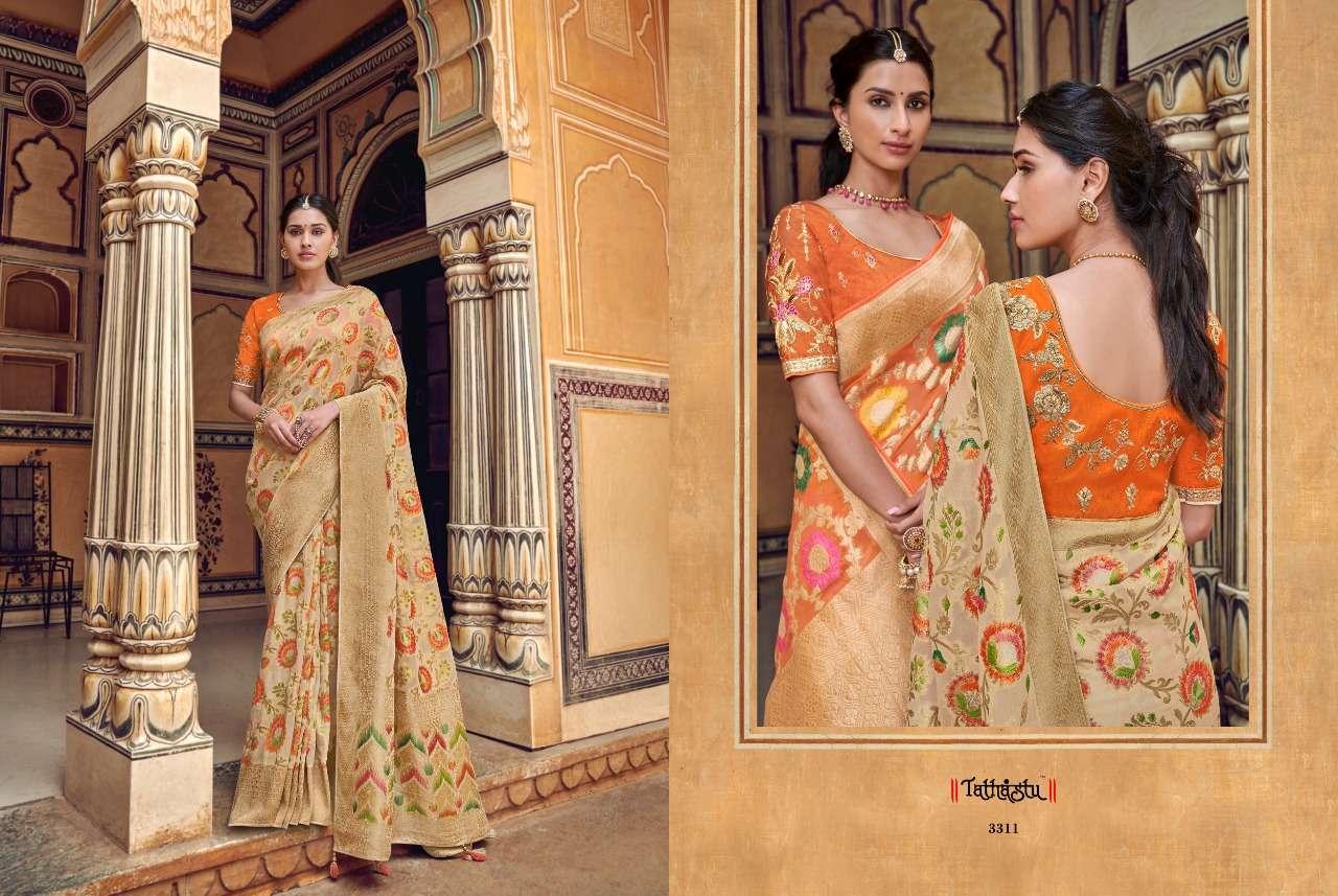 TATHASTU 3300 SERIES designer saree collection 06